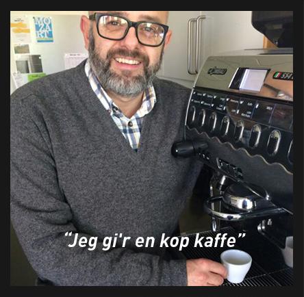 Hvad siger du til en kop kaffe?